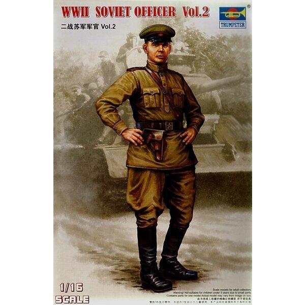 Sowjetische Offizier-Abbildung