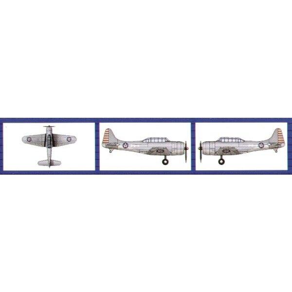Douglas SBD-3 Dauntless (6 pro Schachtel)