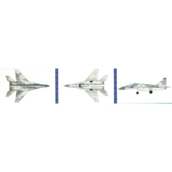 Mikoyan MiG- 29 K Fulcrum (18 im Kasten)