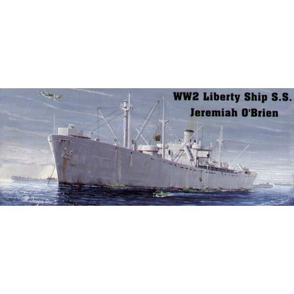 US Liberty Ship Jeremiah O'Brien (auch mit Wasserlinie-Rumpf-Auswahl)