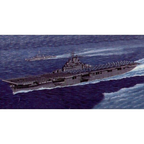Amerikanischer Flugzeugträger-CV- 9 Essex (auch mit Wasserlinie-Rumpf-Auswahl)
