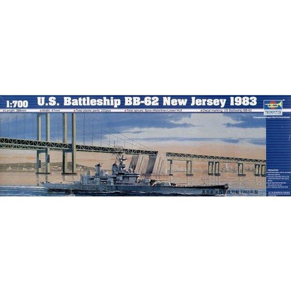 USS Schlachtschiff BB-62 USS New Jersey 1983