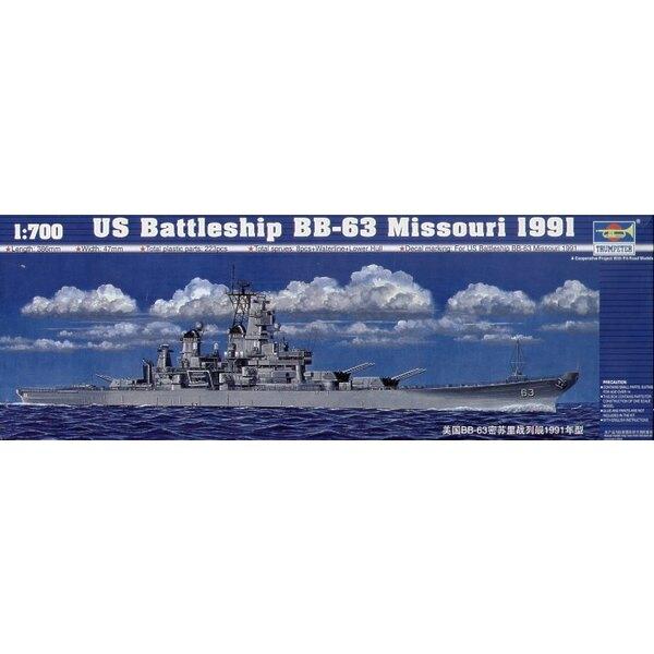 Schlachtschiff US BB-63 Missouri 1991