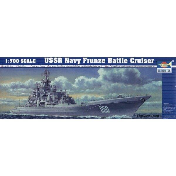 Marine von UDSSR Frunze Kreuzer