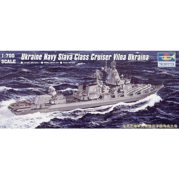 Russischer Slava Class Cruiser Vilna Ukraina