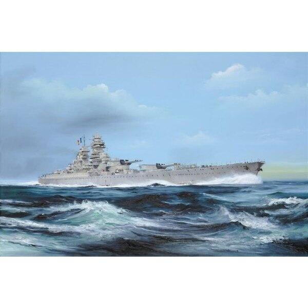 Französisches Schlachtschiff Richelieu 1946