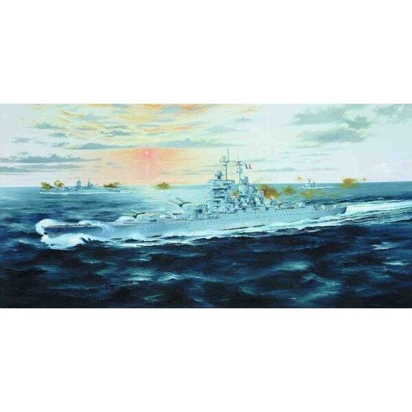 Jean Bart 1955 französisches Schlachtschiff