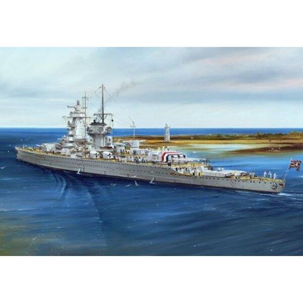 Der deutsche Admiral Graf Spee 1937