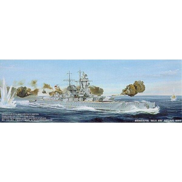 Deutsches Taschenschlachtschiff (Panzer Schiff) Admiral Graf Spee 1939