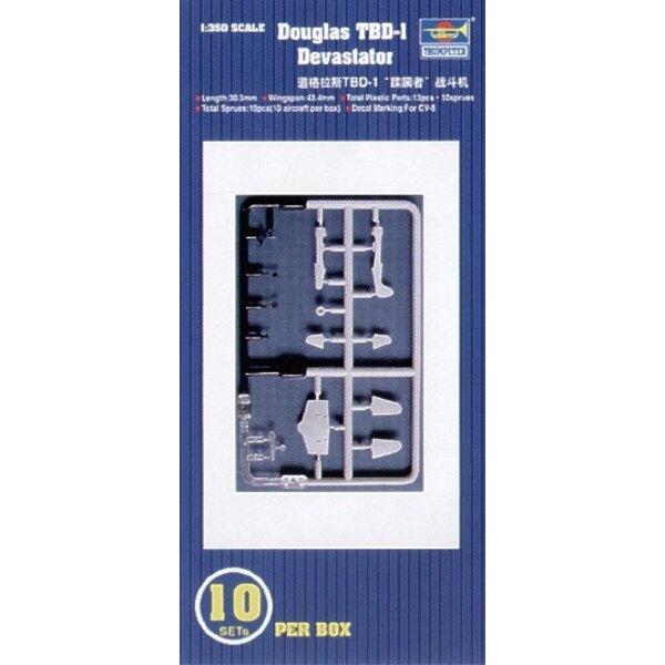Douglas TBD-1 Devastator.10 Sätze pro Schachtel