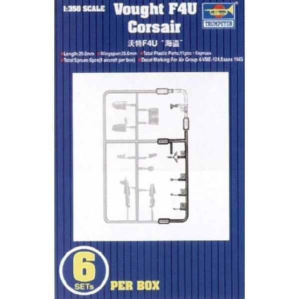 Vought F4U Corsair. 6 Sätze pro Schachtel