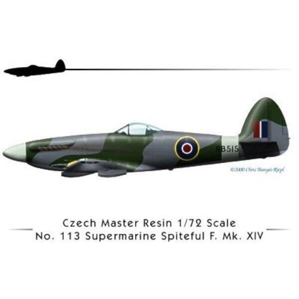 Supermarine Spiteful F Mk.XIV with decals