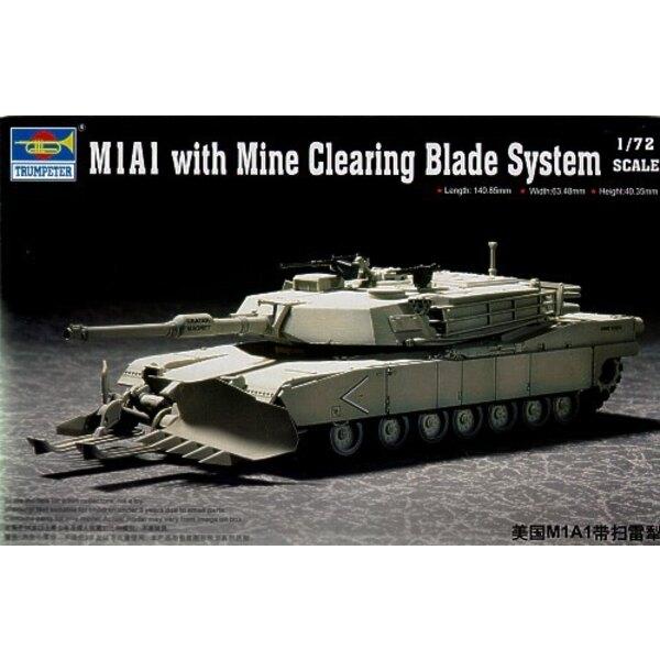M1A1 mit Mine, der Klinge-System Klärt