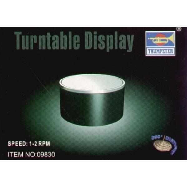 84 Mm x 47-Mm-Plattenteller (Verlangt 1 x 1.5v Batterie von AA)