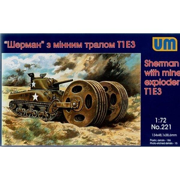 Sherman mit Minenforscher T1 E3