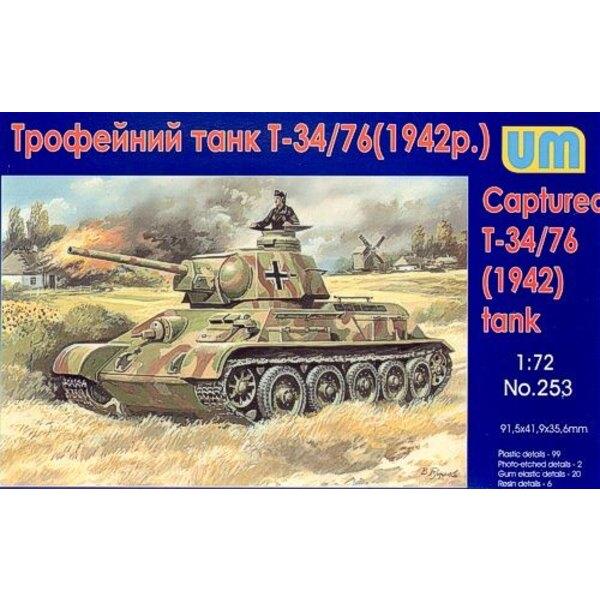 T-34/76 1942 gewann Panzer