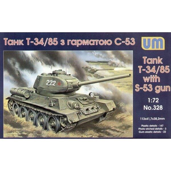 T-34/85 mit S-53 Türmchen