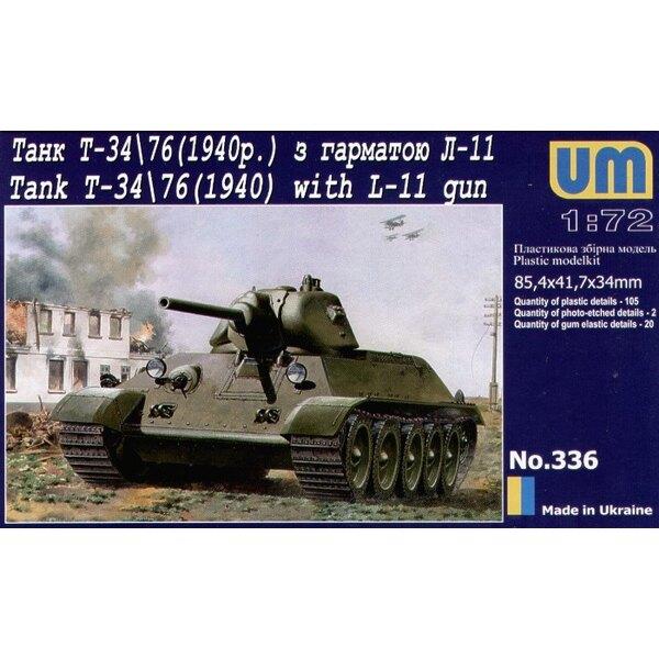 T-34/76 (Model 1940) mit L-11 Kanone