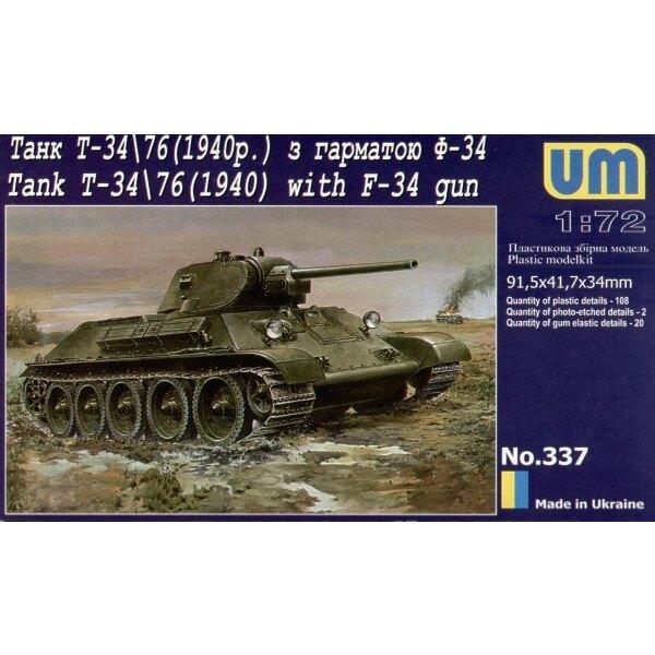 T-34/76 1940 mit F-34 Kanone