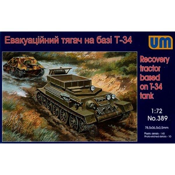 Artillerie-Traktor auf Grund-T-34