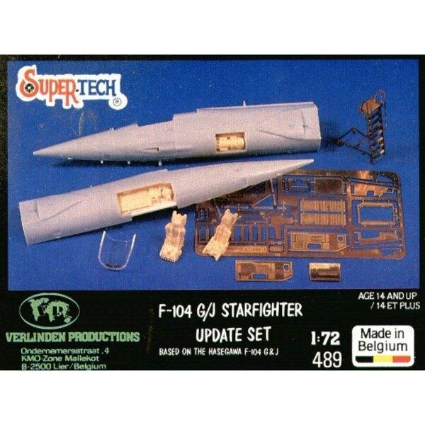 Verbesserte Version des Lockheed F-104G Starfighter (für Bausätze von Hasegawa)