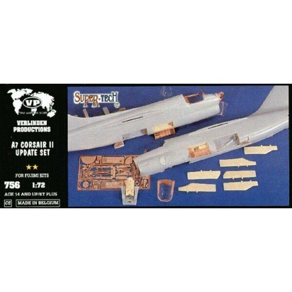 Aktualisierungsset von Vought A-7 Corsair (Fujimi Bausätze)