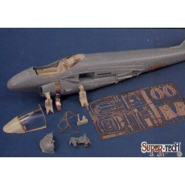 Aktualisierungssatz von Grumman A-6E Intruder (für Revell-Modelle)