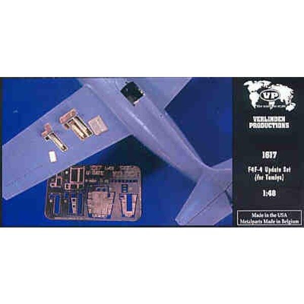Detail Set für Grumman F4F Wildcat (für Bausätze von Tamiya)