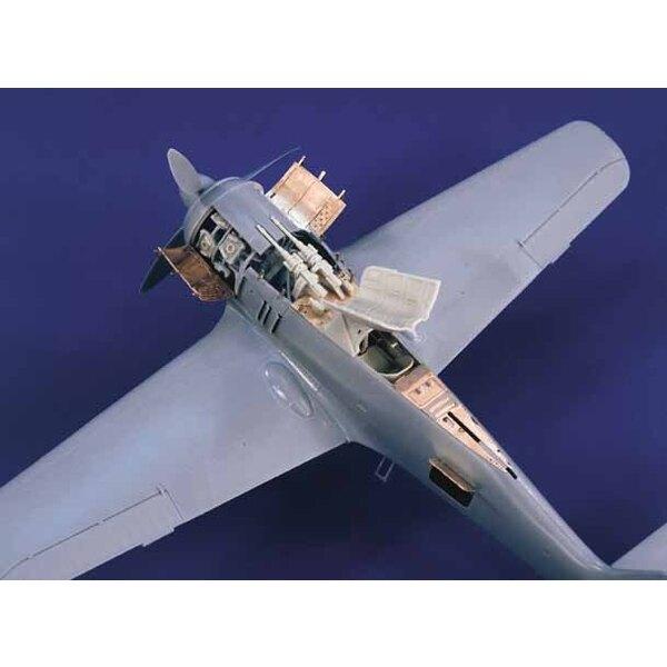 Focke Wulf Fw 190A-5/8 Detail Set (für Bausätze von Hasegawa)