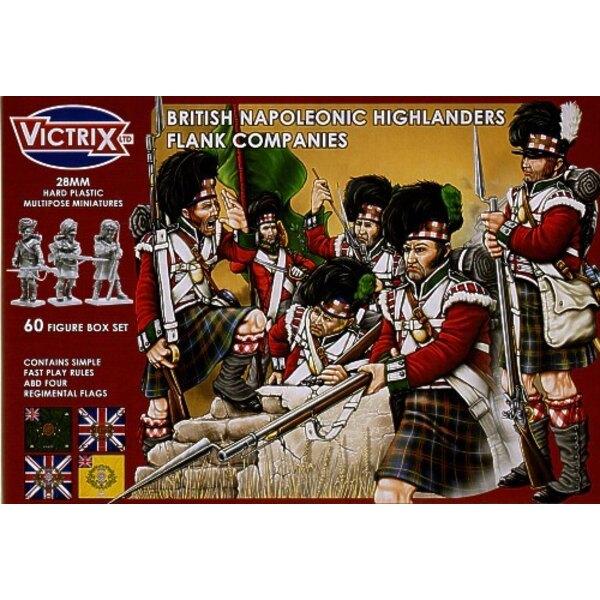 Britische Higlander-Flanke-Gesellschaften
