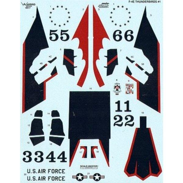 F-4E Phantom Thunderbirds 1972-1973