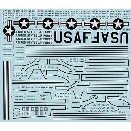 Decal B-36 Peacemaker Stencils and Walkways