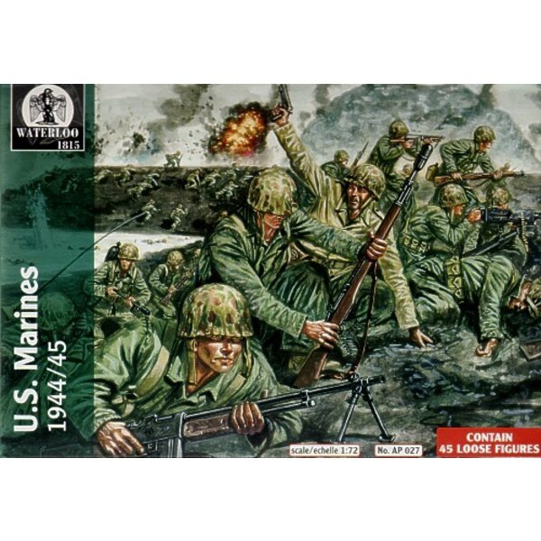 US Marines 1944 - 45 (45 Figuren)