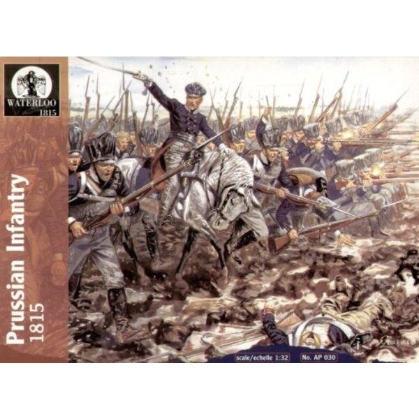 Preußische Infanterie 1815 (13 Pferd der Männer/1)