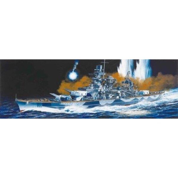 Scharnhorst 1943-Deutscher-Schlachtschiff