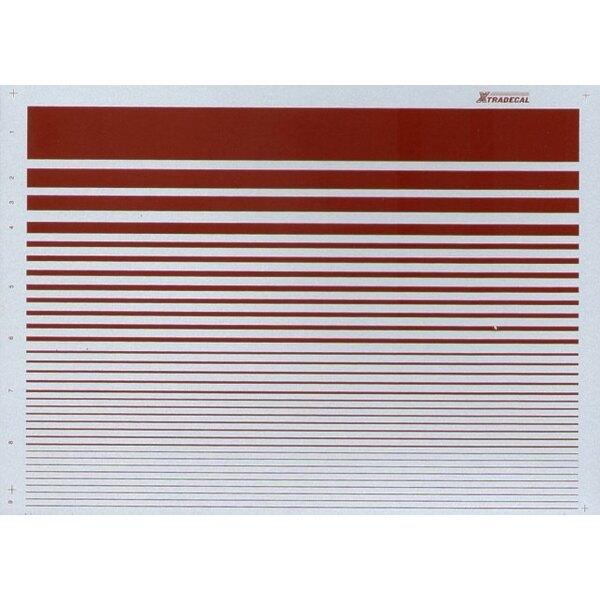 Stripes Roundel Red