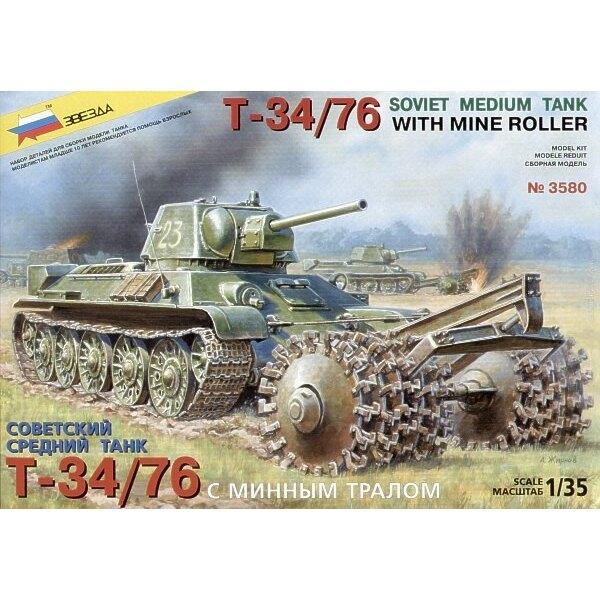 T-34/76 mit Minenrolle