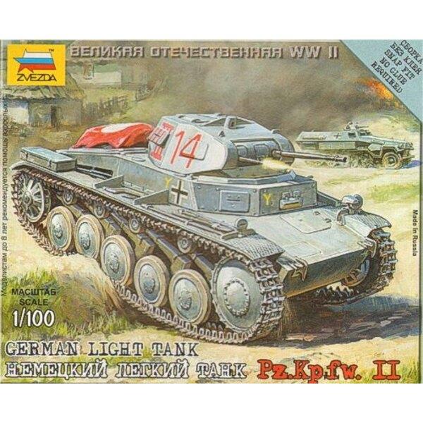 Panzer II (schnappen zusammen)