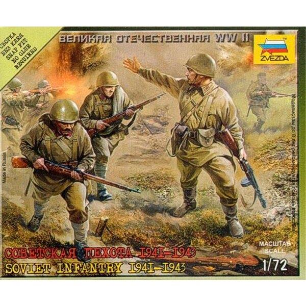 Sowjetische Infanterie 1941-1943