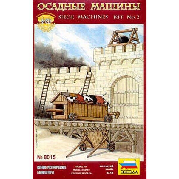 Belagerung Machines Bausatz Nr. 2 (Maschine und Öltopf-Barrikade rammend)