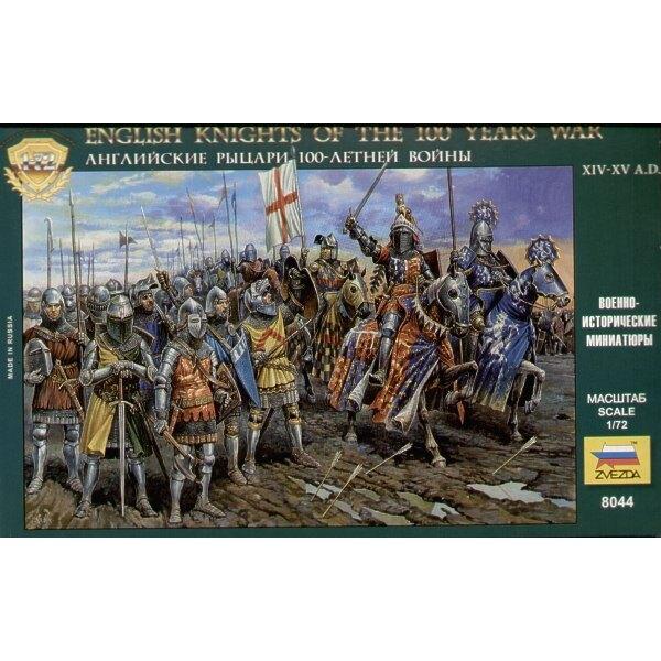 Englische Ritter der Krieg von 100 Jahren