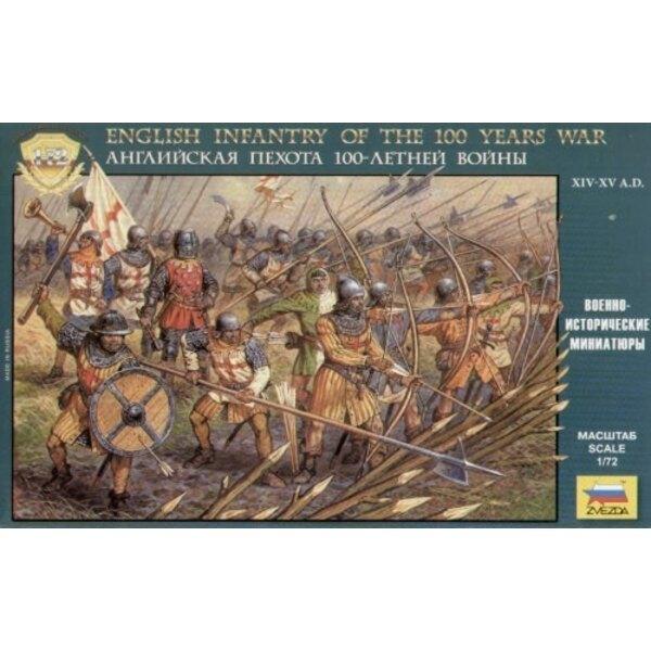 Englische Infanterie