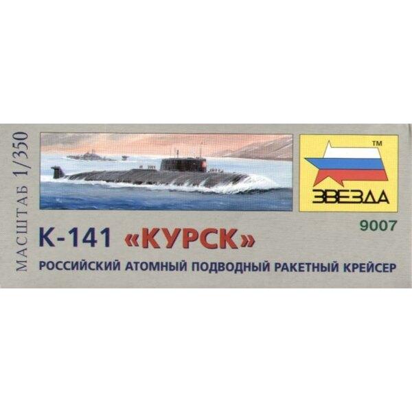 K-141 'Kursk' russisches Kernunterseeboot (Unterseeboote)