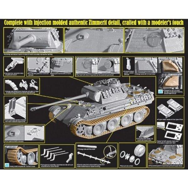 Sd. Kfz.171 Panther G w/Zimmerit '39-'45 Reihen