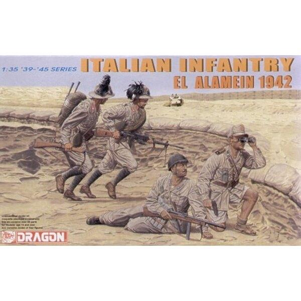Italienische Infanterie El Alamein 1942