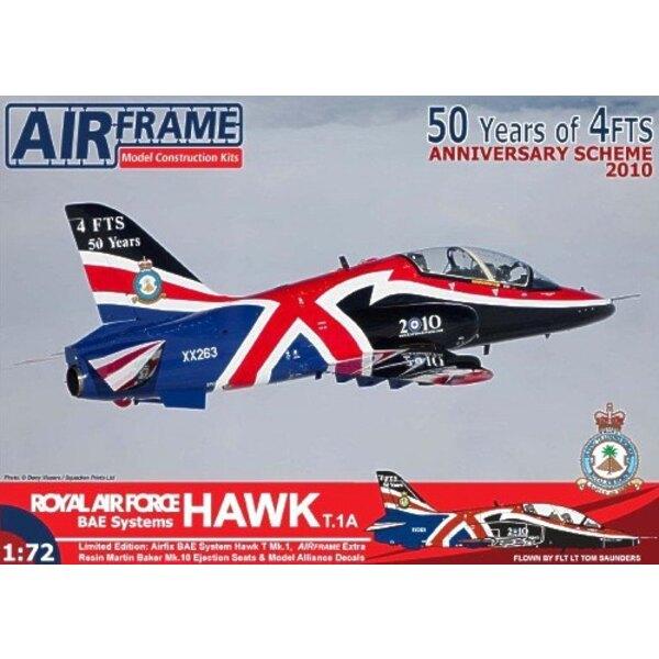 Bae Systeme Hawk T.1A - 4 FTS 50. Spezieller Jahrestag. Das ist der Airix Bausatz mit zusätzlichen Harz-Katapultsitzen und Marki