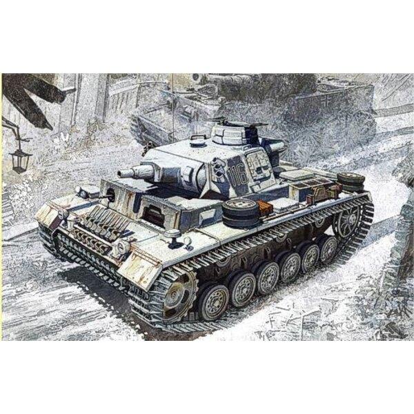 Pz.Kpfw.III Ausf. N w/Winterketten s. Pz. Abt.502 Leningrad 1943