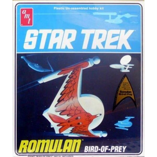Romulan Bird Of Prey (as seen in the episode 'Balance of Terror')