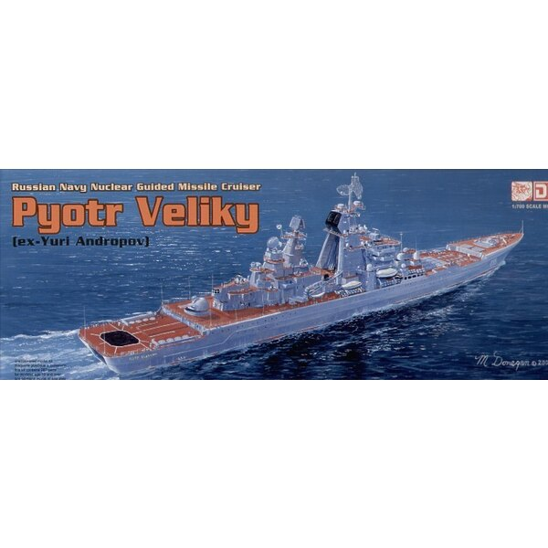 Russischer Pyotr Velikhiy (Klasse Kirov)
