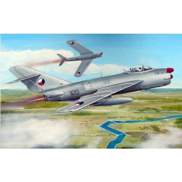 MiG- 17PF Warschauer Pakt - tschechoslowakischer AF, polnischer AF, ungarischer AF, ostdeutscher AF